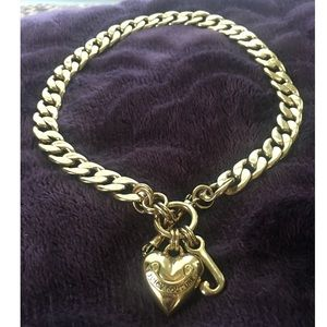 Juicy Couture Gold Chain Link Necklace